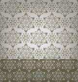geometric damask pattern