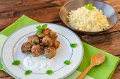 Beef Meatballs With Cilantro