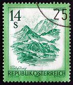 Postage Stamp Austria 1982 Weisssee, Salzburg