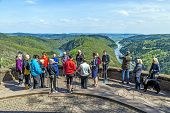 Saar Loop At Cloef, A Famous View Point.