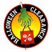 Halloween clearance symbol.