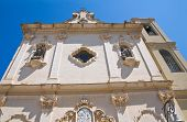 Church of Carmine. San Severo. Puglia. Italy.