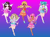 Cupid Girls Cartoon