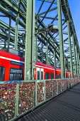 Lockers At The Hohenzollern Bridge Symbolize  Love Forever