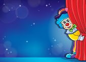 Clown thematics image 4 - eps10 vector illustration.