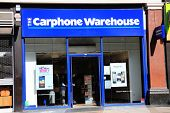 Carphone Warehouse retail outlet