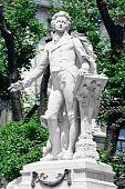 Memorial Mozart / monumento em Viena Burggarten