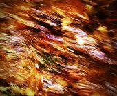 Fiery Water Texture