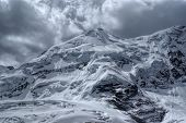 foto of andes  - Dramatic view of high altitude south american Andes in Peru Ausangate - JPG