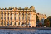foto of winter palace  - The Winter Palace at evening St - JPG