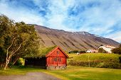 Town of Holar, Iceland