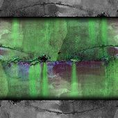 old green iron line background texture