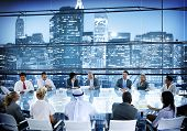 Business People Meeting Room Conversation Team Working Concept