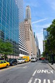 Manhattan New York city Sixth Avenue Las Americas 6th Av NYC US