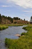 High Desert River in Colorado