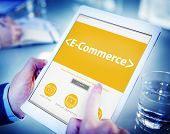 E-Commerce Shopping Online Contemporary Concepts
