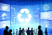Recycle Resource Reuse Reduce Energy Professional Concept