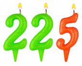 Candles Number Two Hundred Twenty Five