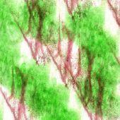 art  watercolor green, purple ink paint blob watercolour splash