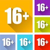 Sixteen Icons