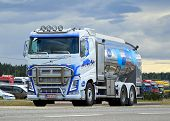 Volvo FH Milk Truck On The Road