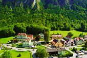 Beautiful Schwangau Village Near Neuschwanstein and Hohenschwangau Castles