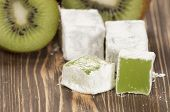 Lukum (turkish Delight) With Kiwi Fruit