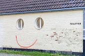 Spray Painted Smiley