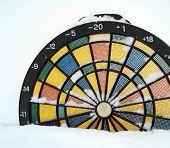 Dartboard Thermometer
