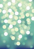 Vector background defocused festive lights, no size limit