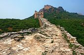 image of qin dynasty  - This is the authentic Simatai section of the Great Wall of China situated north of Beijing - JPG