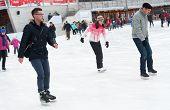 People Skating In Park
