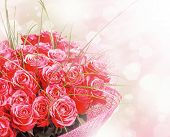 Art Design With Roses