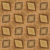 Wooden Hardwood Tiled Floor Seamless Pattern