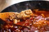 Stewed Chicken In Tomato Sauce