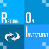 ROI - Return On Investment Four Blocks