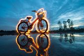 Bicycle Light Painting