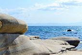 Oval Coastal Rocks D