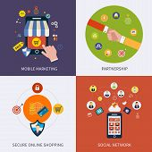 Icons for social network