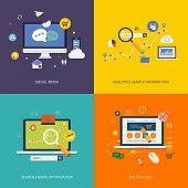 Internet advertising icons