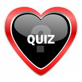 stock photo of quiz  - quiz icon 