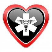 emergency icon hospital sign