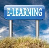image of online education  - e - JPG