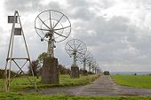 Satelite Dish Old Radio Telescopes