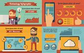 Technology Infographic Elements