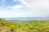 Beautiful View over Lake Malawi from Northern Mountains, Malawi, Africa