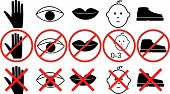 Icons With Prohibitions Action 2
