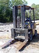 Abandoned Forklift