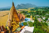 Big Buddha Statue At Tiger Cave Temple (wat Tham Sua), Kanchanaburi Province, Thailand