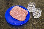 Sausage And Vodka